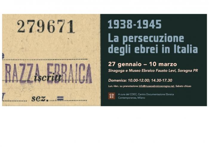 Mostra Persecuzione Ebrei in Italia